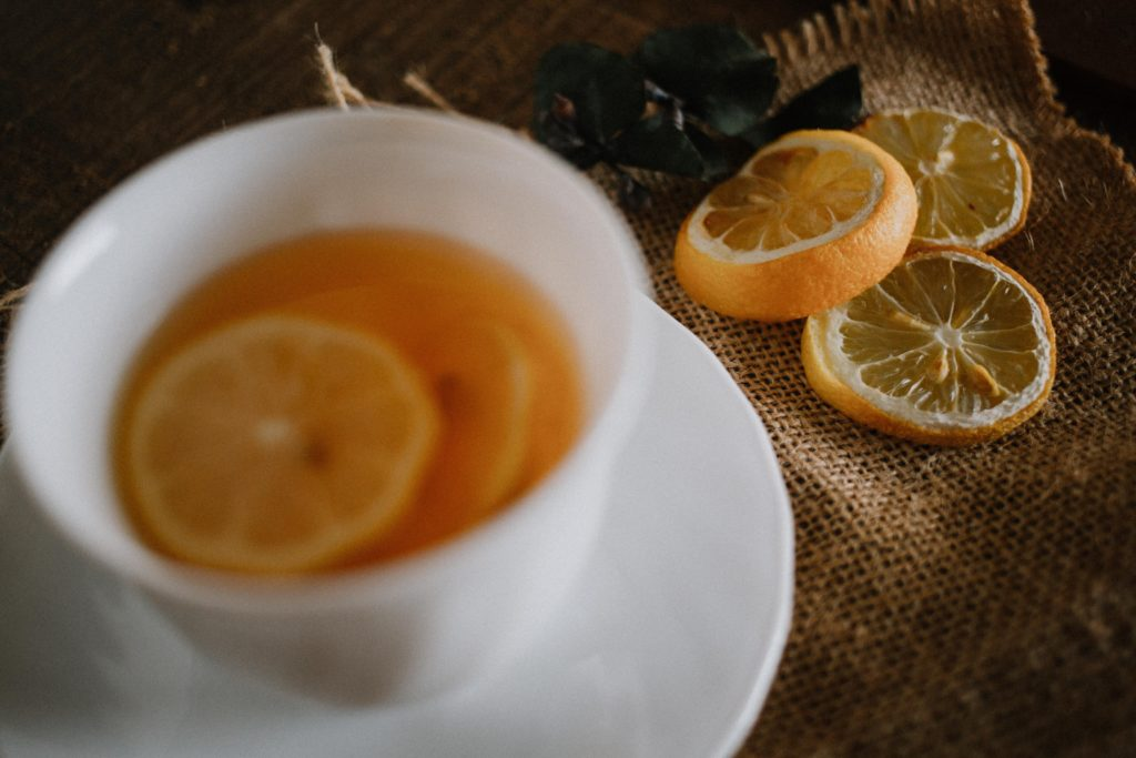 an image of lemon tea as way on how you start your day